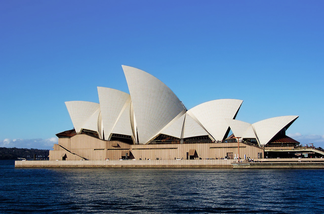sydney opera house sails edit02 adj - Get Free Photos Of Sydney Opera House  Pictures